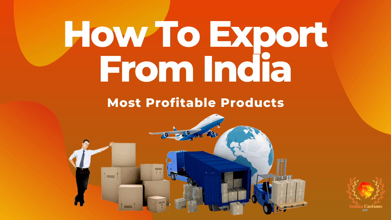 How To Export From India