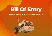 Bill Of Entry