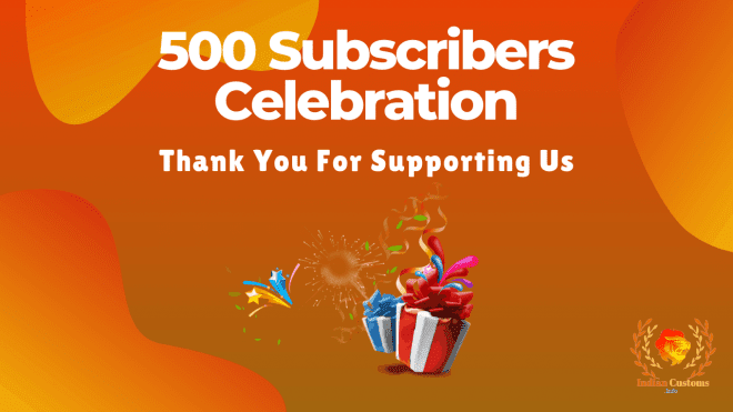 500 Subscribers Celebration
