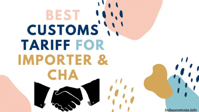 custom tariff