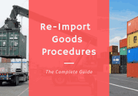 ReImport Of Exported Goods Procedures